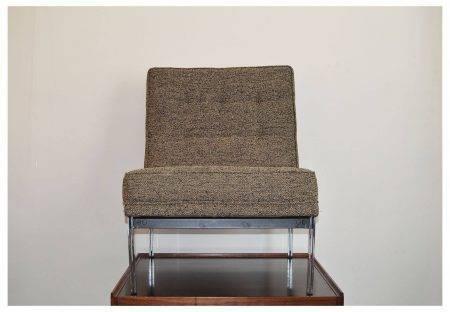 """Paire de fauteuils Knoll ...""""chauffeuse"""" Prix :2800 euro httc (la paire) Année: 1950 Hauteur :80 cm Largeur :60 cm Profondeur :75 cm"""