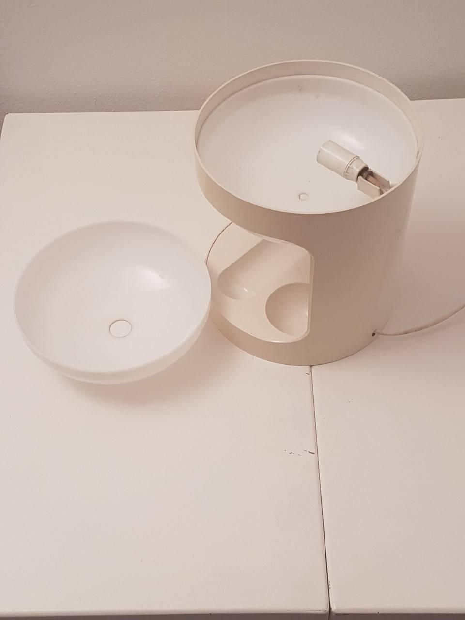 Lampe de bureau design joe colombo kd29 benoit de - Lampe de bureau kartell ...