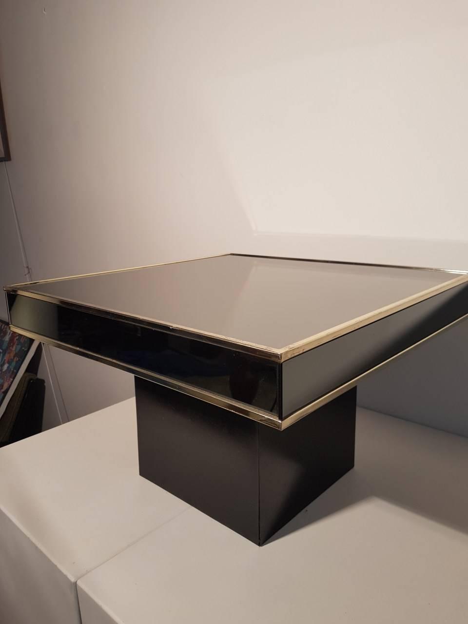 2 Tables Basses Design Willy Rizzo Benoit De Moffarts Vide